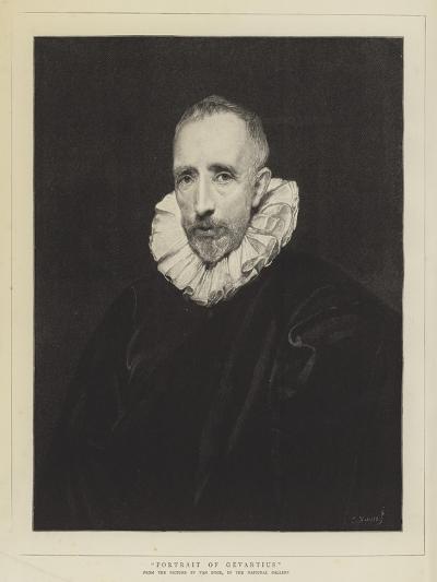 Portrait of Gevartius-Sir Anthony Van Dyck-Giclee Print