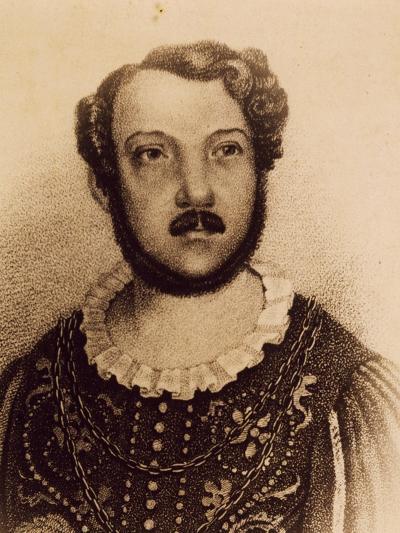 Portrait of Gian Battista Verger--Giclee Print