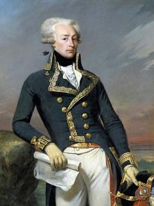 Portrait of Gilbert Motier, Marquis De La Fayette (Lafayette) by Joseph-Desire Court