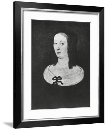 Portrait of Gilberte Perier--Framed Giclee Print
