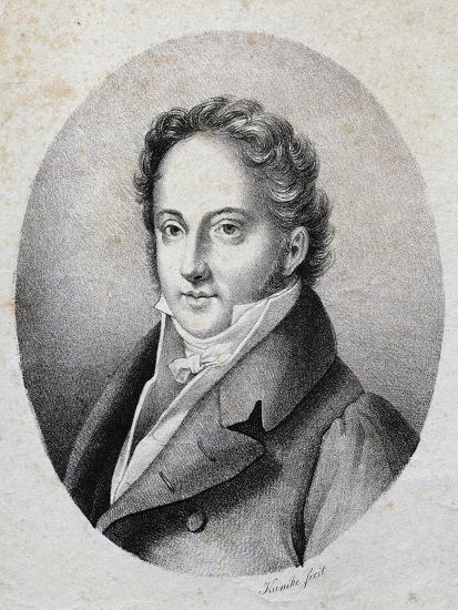 Portrait of Gioacchino Rossini--Giclee Print