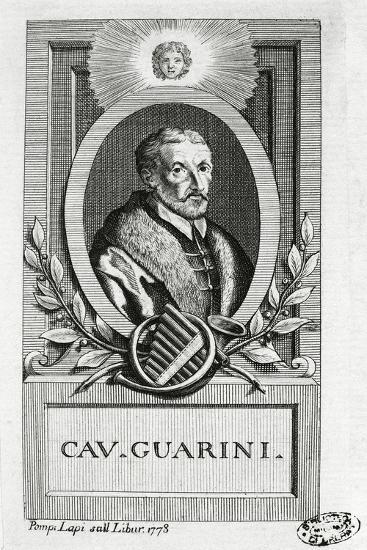 Portrait of Giovanni Battista Guarini--Giclee Print