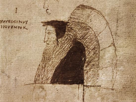 Portrait of Giovanni Calvino--Giclee Print