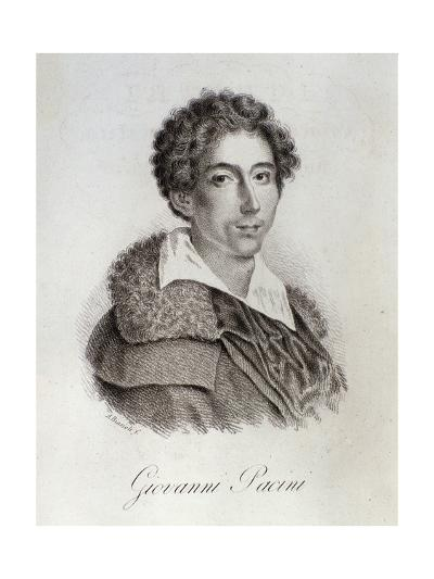 Portrait of Giovanni Pacini--Giclee Print
