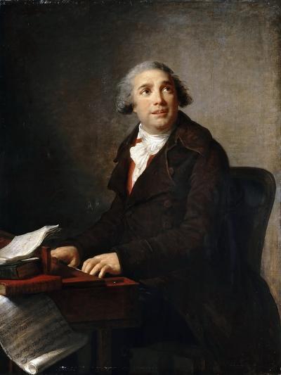 Portrait of Giovanni Paisiello (1740-181) at the Harpsichord-Marie Louise Elisabeth Vig?e-Lebrun-Giclee Print