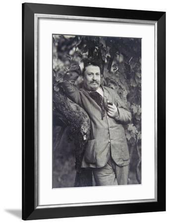 Portrait of Giovanni Pascoli--Framed Giclee Print