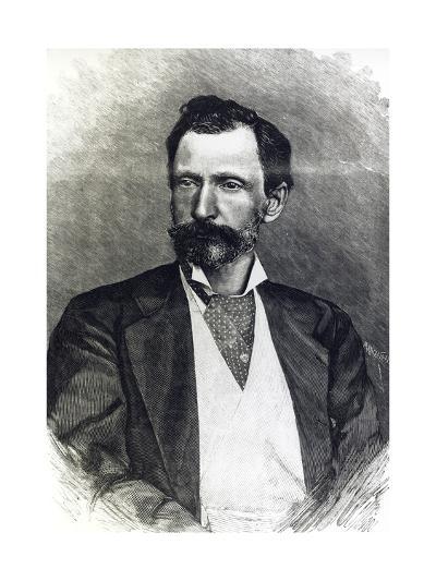 Portrait of Giuseppe Zanardelli--Giclee Print
