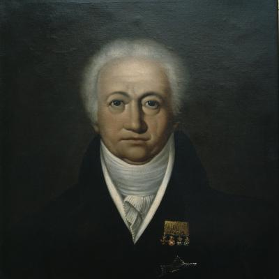 Portrait of Goethe, 1816-Ferdinand Jagemann-Giclee Print