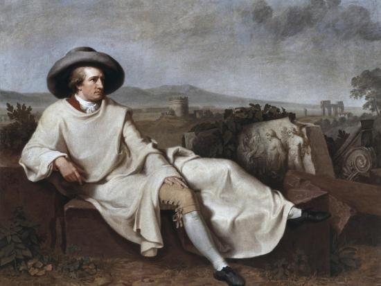 Portrait of Goethe-Johann Friedrich August Tischbein-Giclee Print