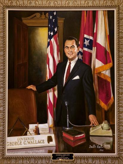 Portrait Of Governor George Wallace-Carol Highsmith-Art Print