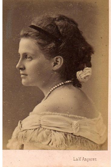 Portrait of Grand Duchess Olga Constantinovna of Russia (1851-192), 1870S--Giclee Print