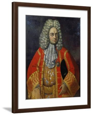 Portrait of Grigorij Dmitriewitsch Stroganoff-Roman Nikititsch Nikitin-Framed Giclee Print