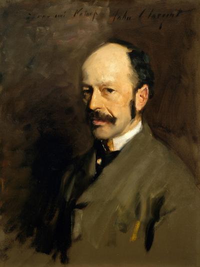 Portrait of Gustav Natorp, C.1883-84-John Singer Sargent-Giclee Print