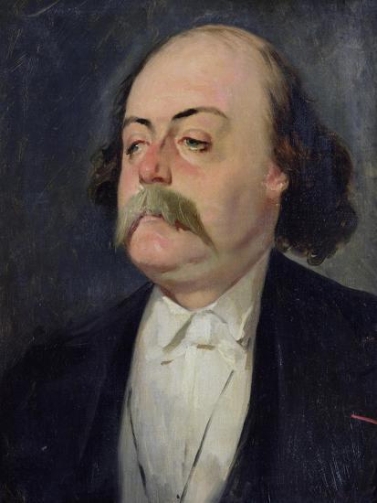 Portrait of Gustave Flaubert (1821-80) 1868-81-Eugene Giraud-Giclee Print