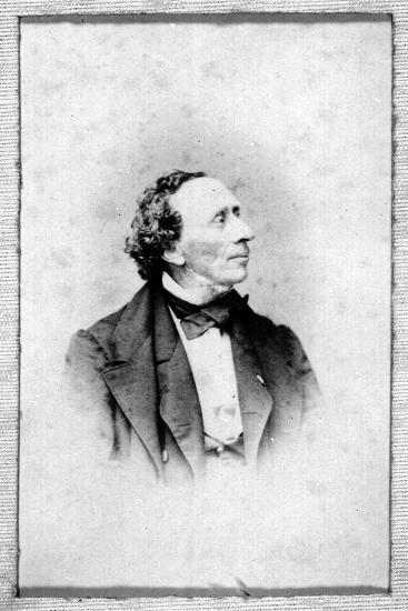 Portrait of Hans Christian Andersen (1805-187)--Giclee Print
