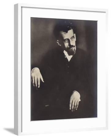 Portrait of Hans Pfitzner--Framed Photographic Print