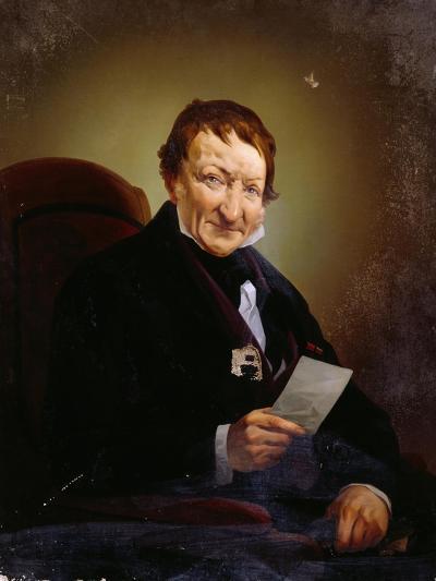 Portrait of Heinrich Mylius--Giclee Print
