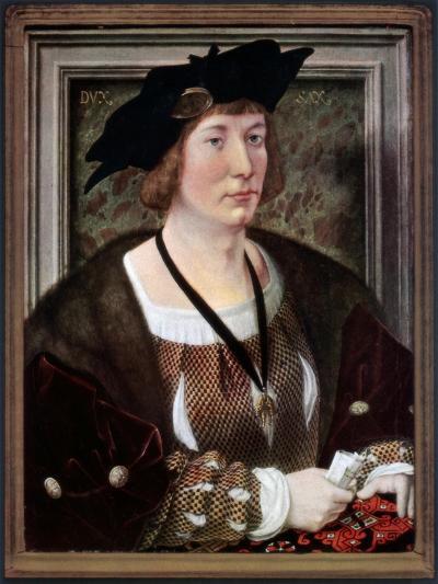 Portrait of Hendrik III, Count of Nassau-Breda, C1516-1517-Jan Gossaert-Giclee Print