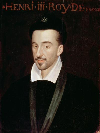 Portrait of Henri III--Giclee Print