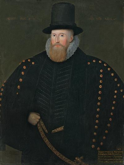 Portrait of Henry, 1st Baron Norris, of Rycote, 1585--Giclee Print