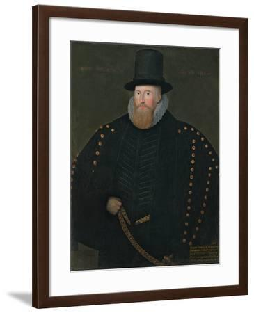 Portrait of Henry, 1st Baron Norris, of Rycote, 1585--Framed Giclee Print