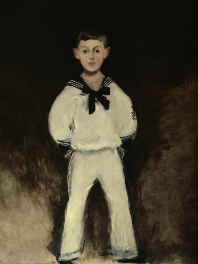 Portrait of Henry Bernstein As a Boy-Edouard Manet-Giclee Print