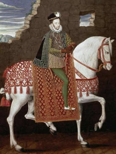 Portrait of Henry III of France--Giclee Print
