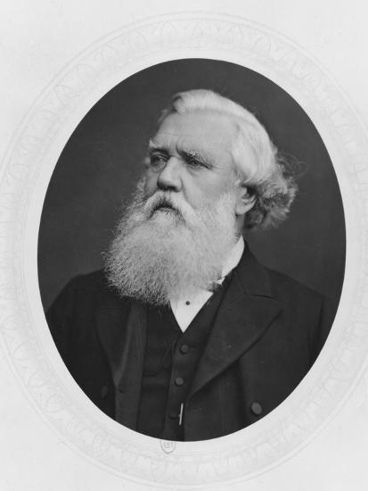 Portrait of Henry Layard, c.1880--Photographic Print