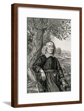 """Portrait of Henry More Frontispiece to His """"Theological Works""""--Framed Giclee Print"""