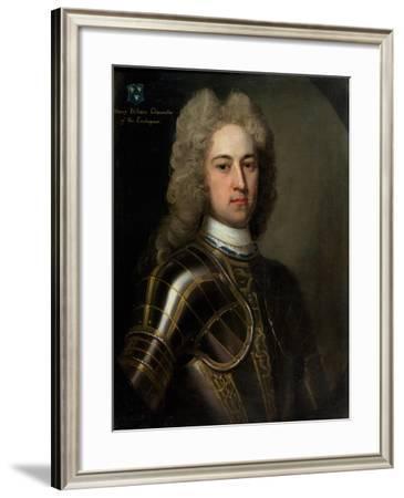 Portrait of Henry Pelham (C.1695-1754) C.1725-Michael Dahl-Framed Giclee Print