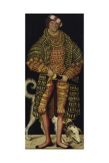 Portrait of Henry the Pious, Duke of Saxony, 1514-Lucas Cranach the Elder-Giclee Print