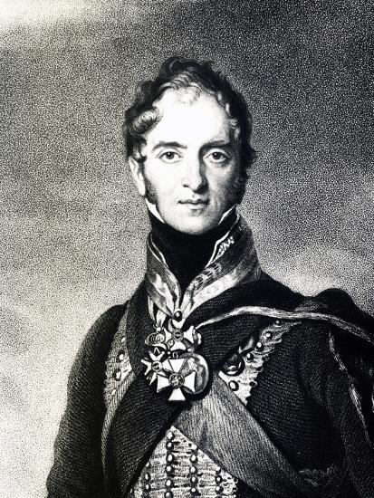 Portrait of Henry William Paget, Marquis of Anglesey--Giclee Print