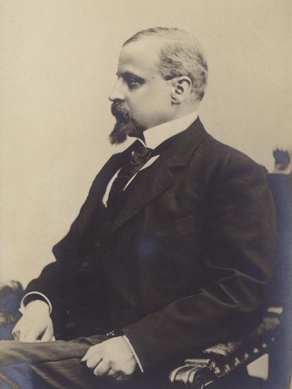 Portrait of Henryk Sienkiewicz--Photographic Print
