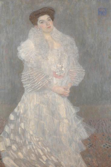 Portrait of Hermine Gallia, 1904-Gustav Klimt-Giclee Print
