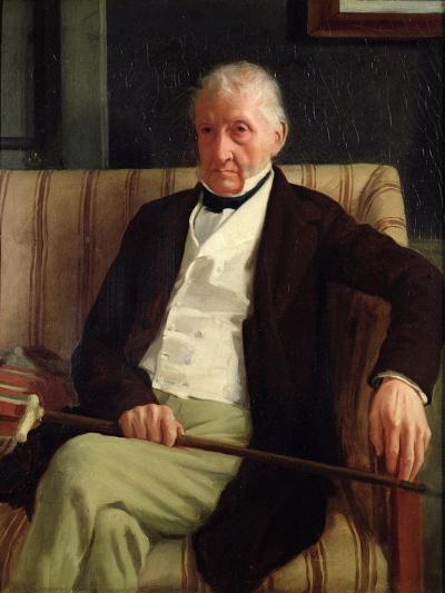 Portrait of Hilaire Degas, Grandfather of the Artist, 1857-Edgar Degas-Giclee Print
