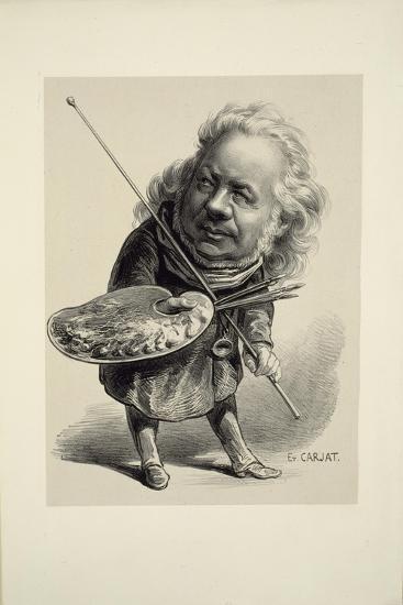 Portrait of Honoré Daumier, 1862-Etienne Carjat-Giclee Print