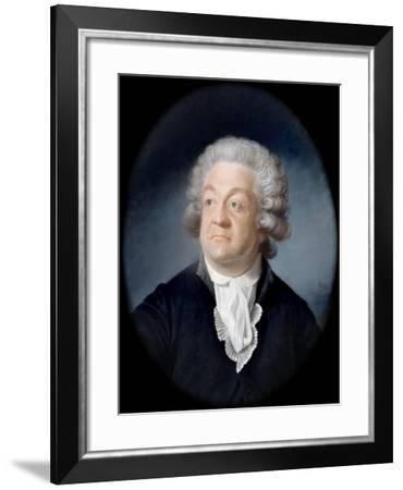 Portrait of Honoré Gabriel Riqueti, Comte De Mirabeau (1749-179)-Joseph Boze-Framed Giclee Print