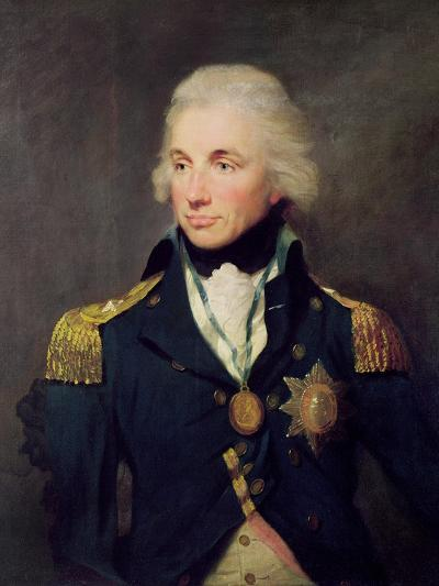 Portrait of Horatio Nelson-Lemuel-francis Abbott-Giclee Print