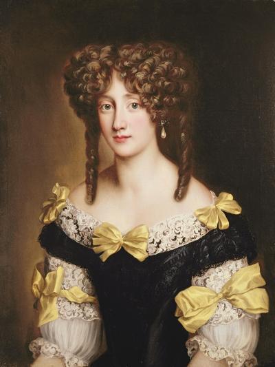 Portrait of Hortense Mancini-Jacob Ferdinand Voet-Giclee Print