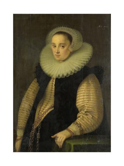 Portrait of Hortensia Del Prado (Died), Wife of Jean Fourmenois-Gortzius Geldorp-Art Print