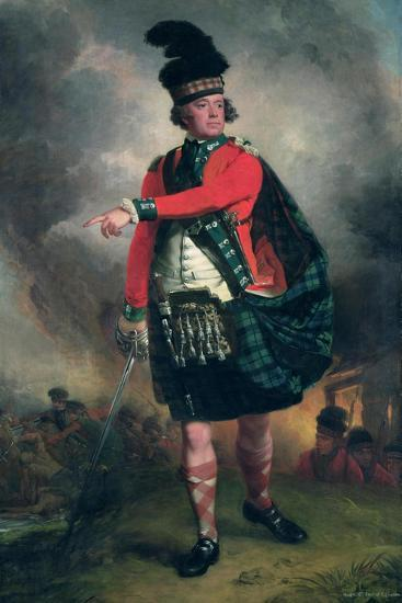 Portrait of Hugh Montgomerie, 12th Earl of Eglinton (1739-1819) C.1780-John Singleton Copley-Giclee Print