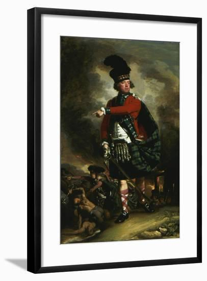 Portrait of Hugh Montgomerie, later 12th Earl of Eglinton, 1780-John Singleton Copley-Framed Giclee Print