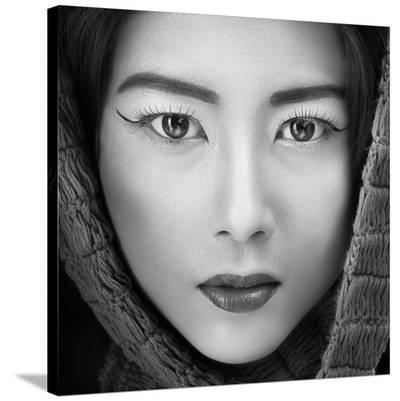 Portrait Of Icha-Arief Siswandhono-Stretched Canvas Print