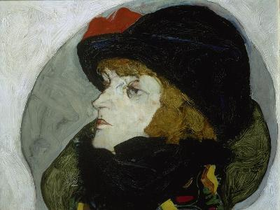 Portrait of Ida Roessler, 1912-Egon Schiele-Giclee Print