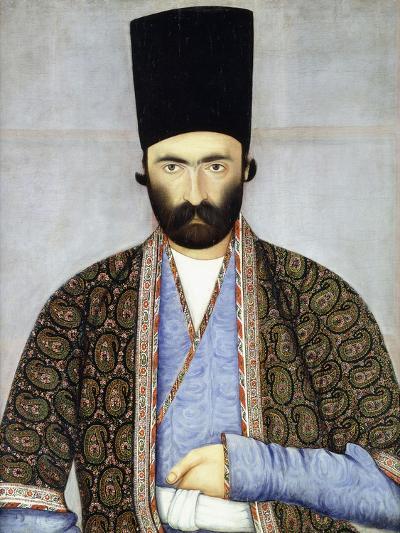 Portrait of 'Imad Al Daulah, Imam Quli Khan, C.1855-1860-Abu'l Hassan Ghaffari-Giclee Print