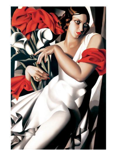 Portrait of Ira-Tamara de Lempicka-Premium Giclee Print