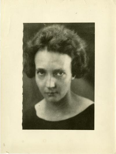 Portrait of Irene Joliot-Curie (1897-195)--Giclee Print