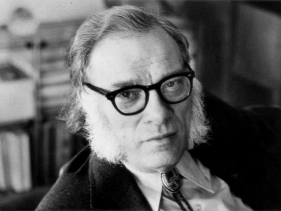 Portrait of Isaac Asimov--Photographic Print