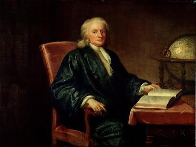 Portrait of Isaac Newton-Enoch Seeman-Giclee Print
