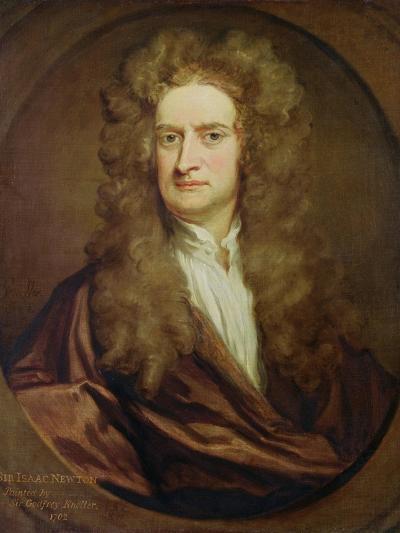 Portrait of Isaac Newton-Godfrey Kneller-Giclee Print